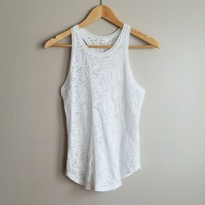 | Wilfred | white lace tank top